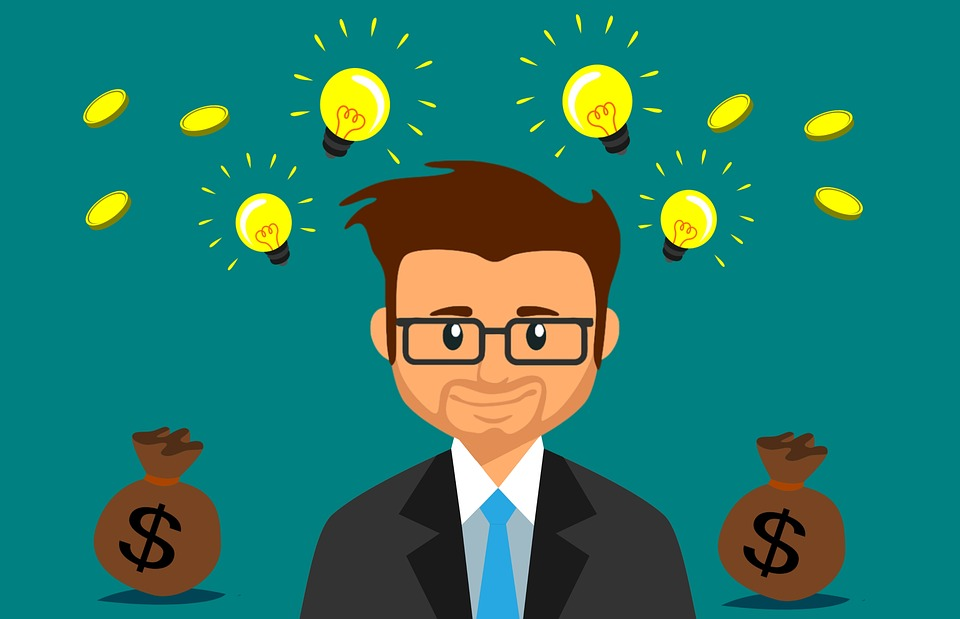 Money, Idea, Business, Man, Bulb, Capital, Crowdfunding