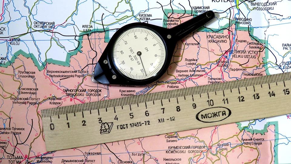 Matkamittari Kartta Linja Ilmainen Valokuva Pixabayssa