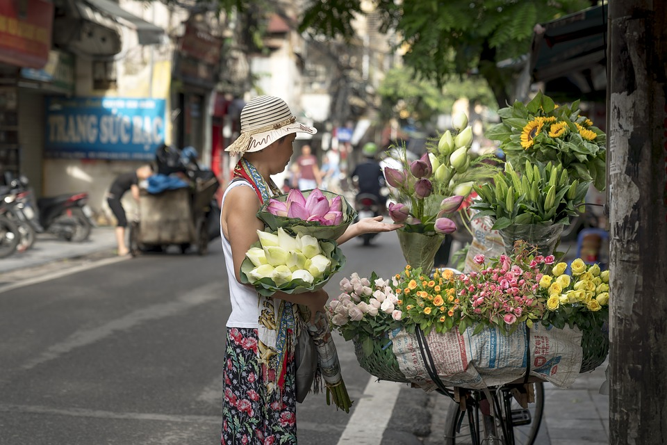 Hanoi, The Street, Vietnam, The City, Supplier, Fair