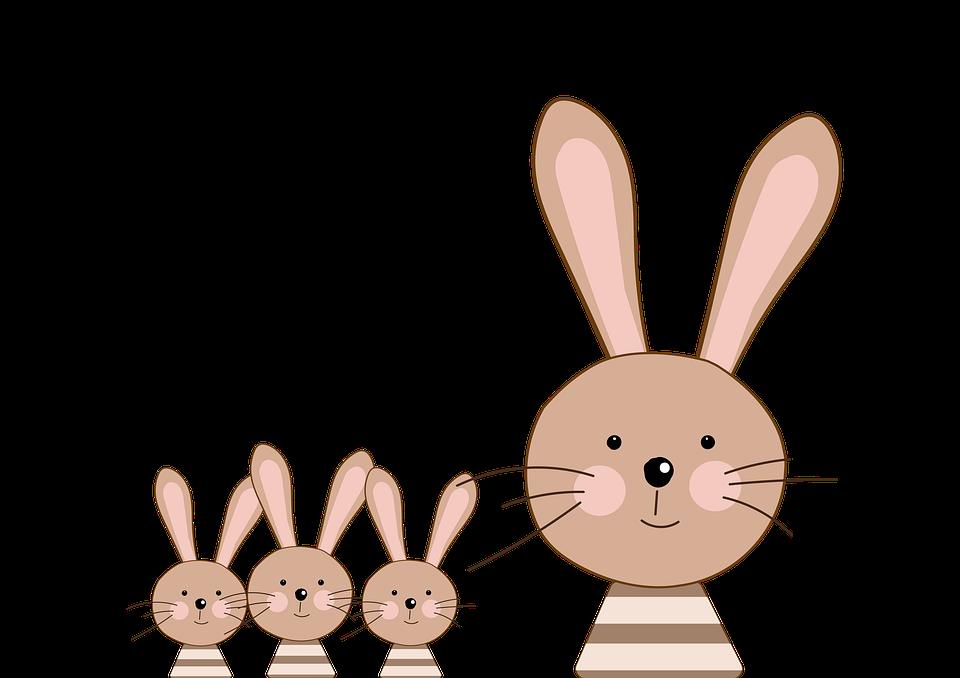 Hase, Osterhase, Kaninchen, Ostern, Frühling, Niedlich