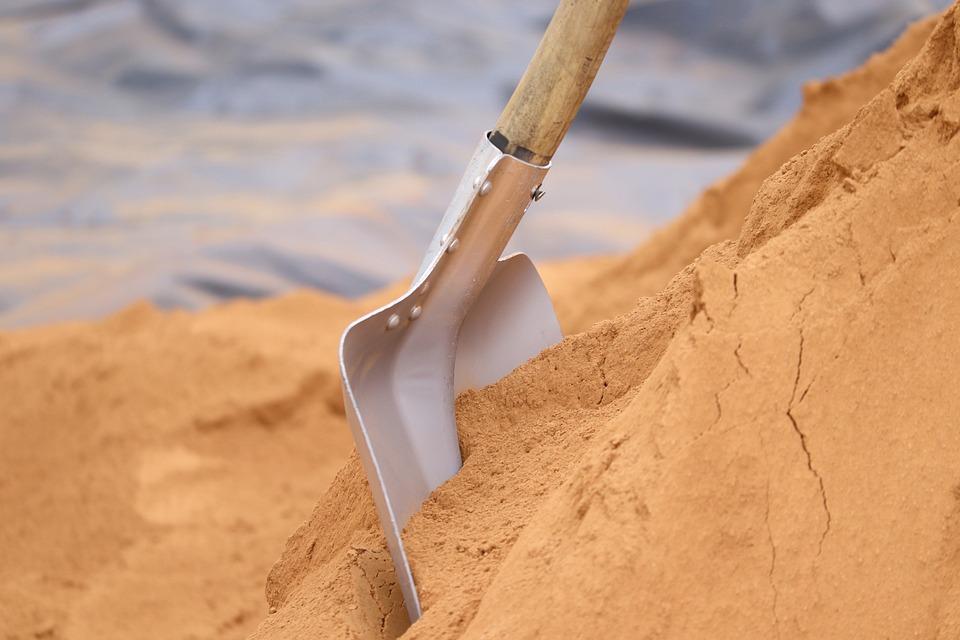 Ilustrasi menggali