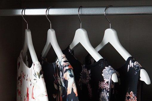 Skříň, Věšák, Šaty, Oblečení, Móda, Oděv