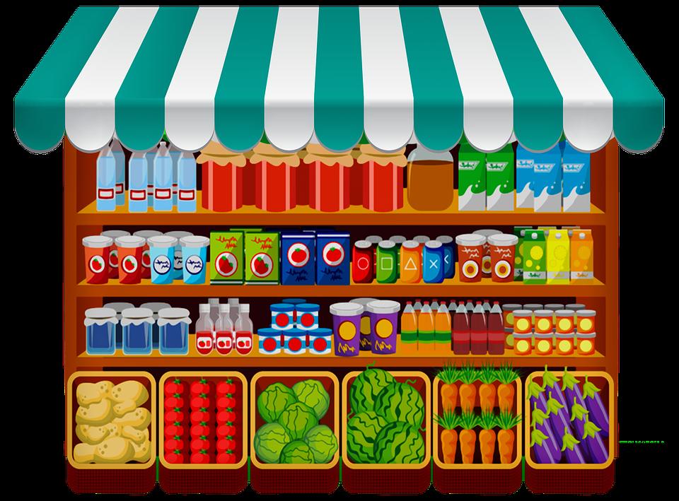 restock grocery at walmart