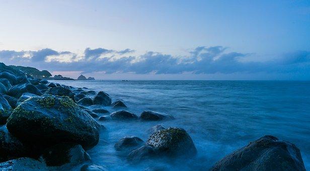 Μπλε, Θάλασσα, Ωκεανών, Νερό, Φύση