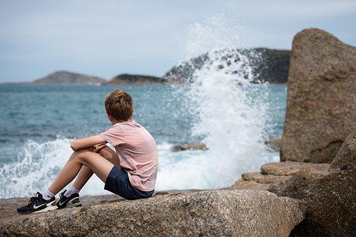 Ocean, Sea, Coastline, Waves, Water
