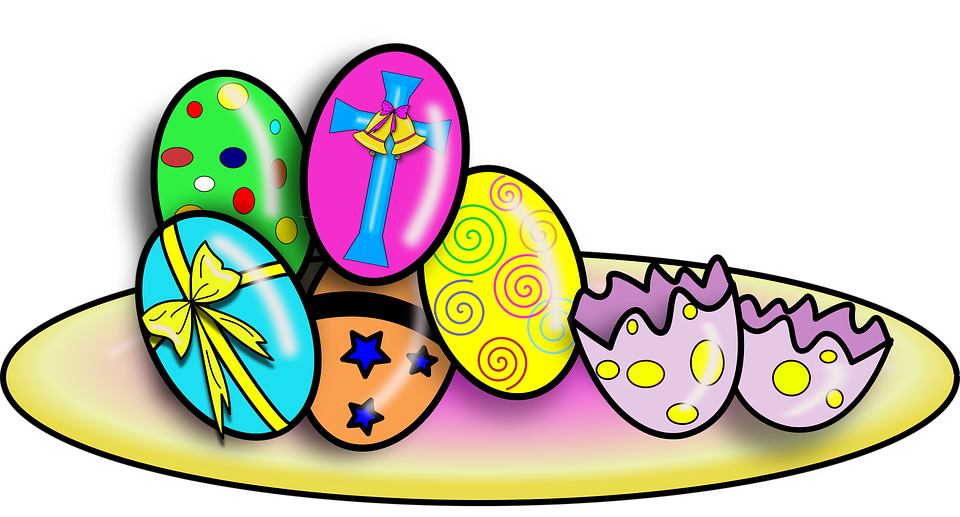 Easter Egg Color Free Vector Graphic On Pixabay