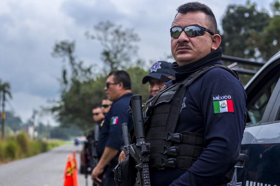 Policia, Seguridad, Orden, Policía, Pistola, Vigilancia
