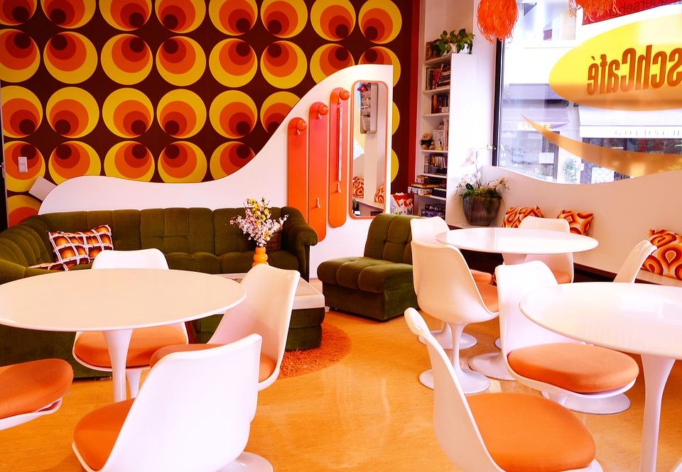 Orange 70Er Jahre Tapete - Kostenloses Foto auf Pixabay