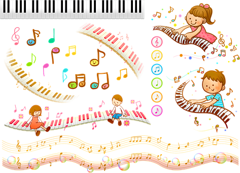 Music Background, Music Note