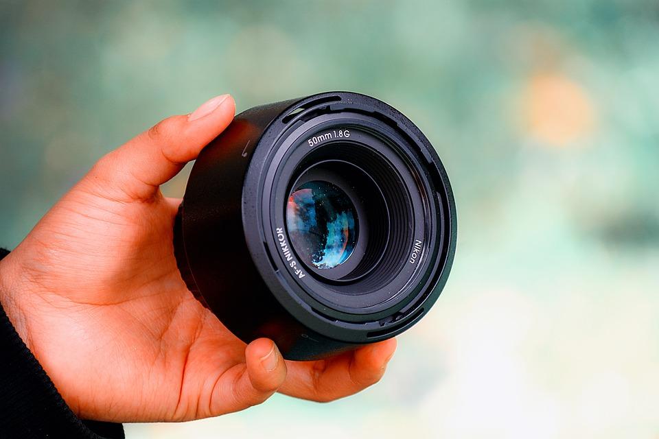 Lens, Photography, Hand, Camera, Nikon