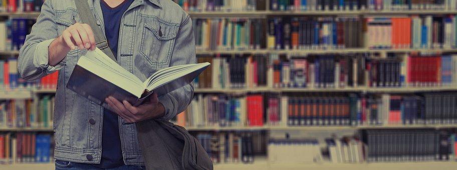 本, 読み取り, 学生, ライブラリ, 本棚, 学校, 学ぶ, 大学, 情報