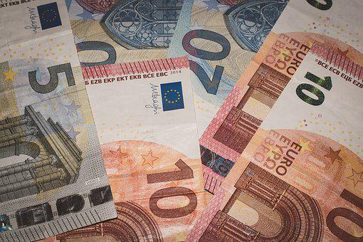 Euro Banknotes, The Currency In Poland, Finance