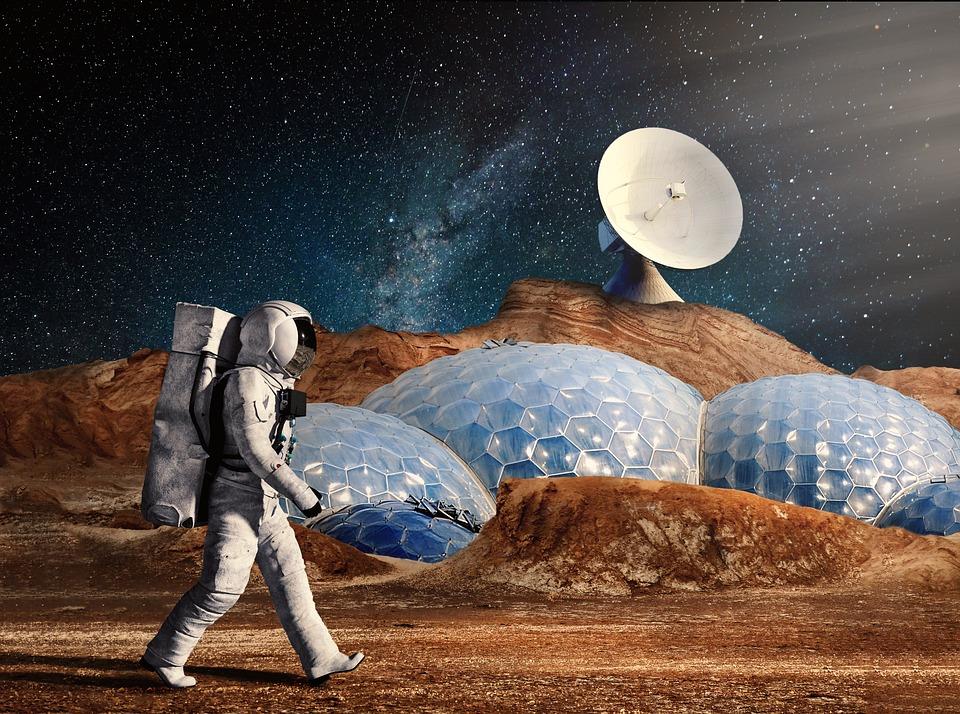 Afbeeldingsresultaat voor kosmonauten pixabay