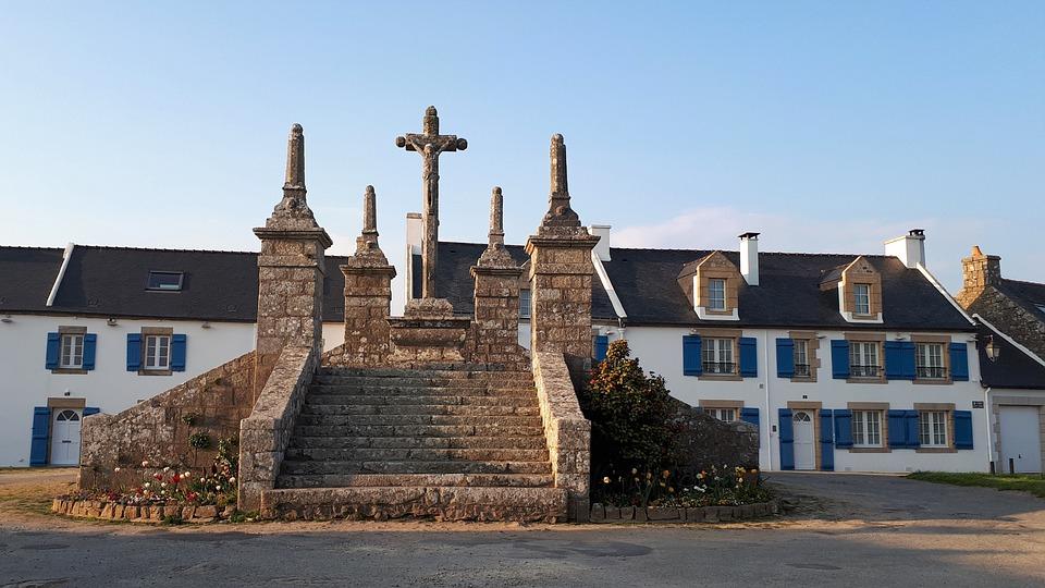 Calvaire, Saint-Cado, Bretagne, Chrétien, Patrimoine