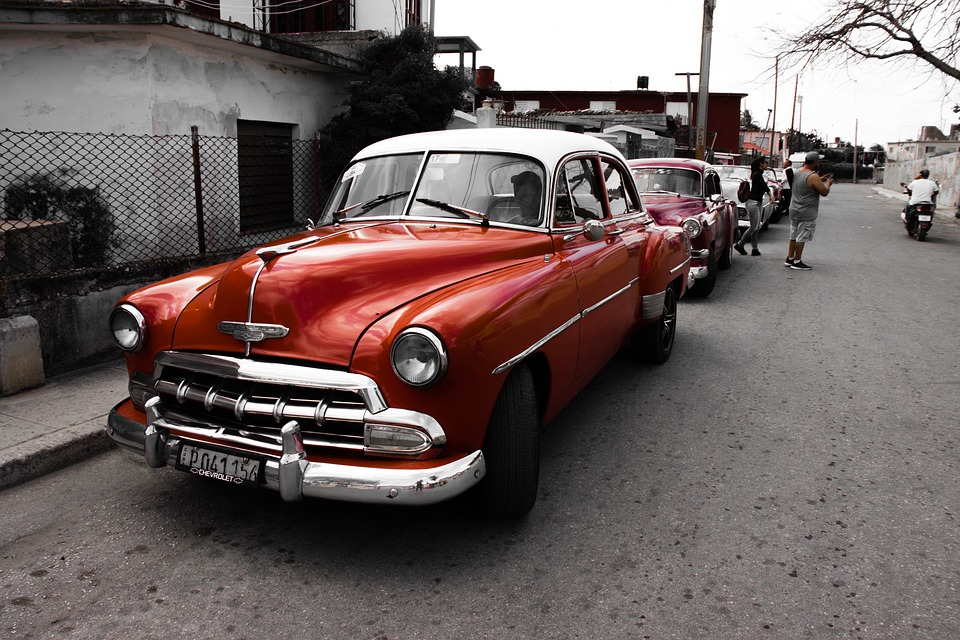 Klassische Auto Kuba Kostenloses Foto Auf Pixabay