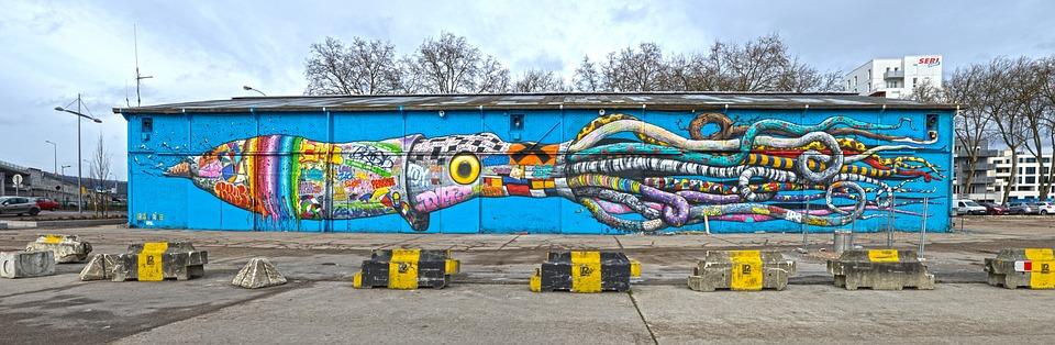 Étonnant Urban Street-Art Wall - Free photo on Pixabay SO-59