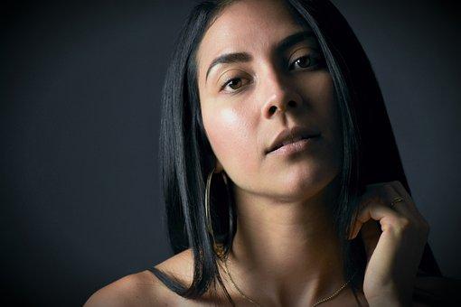 Latin, Women, Girl, Portrait, Young