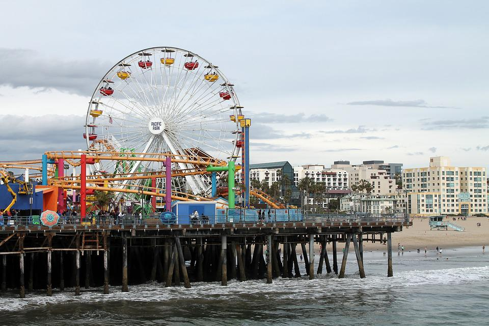 Santa Monica Los Angeles - Foto gratis su Pixabay