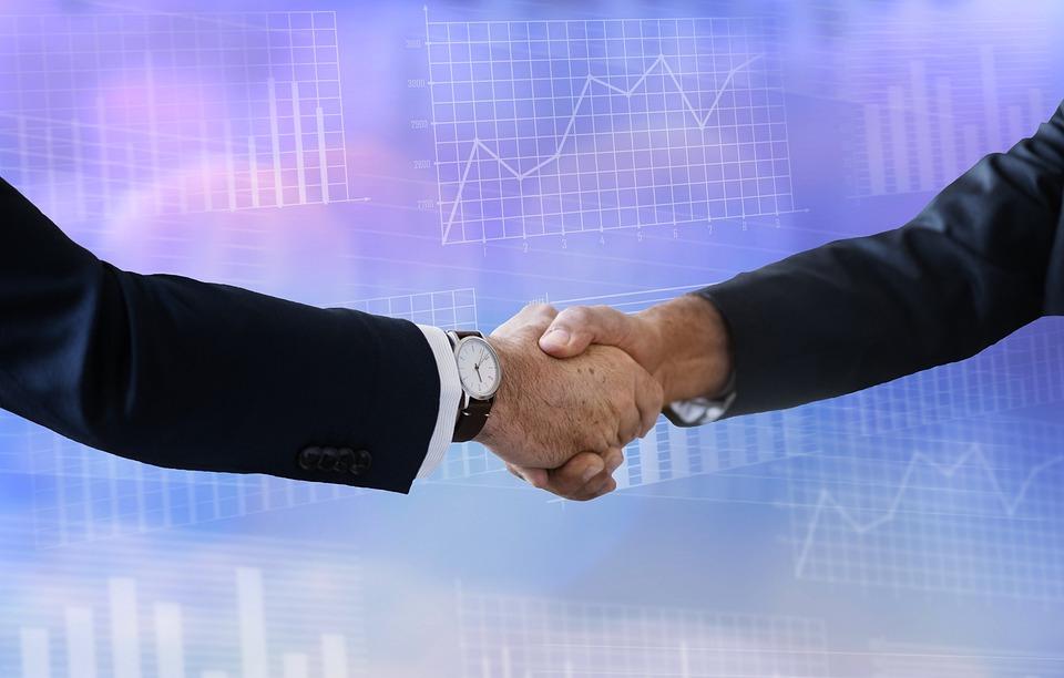 契約, ビジネス, ファイナンス, 株式, ハンドシェイク, パートナーシップ, 販売, 貿易, 外国為替