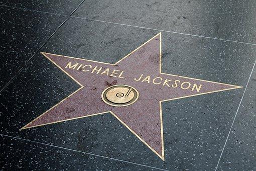 ハリウッド, ロサンゼルス, 名声の散歩, マイケル・ジャクソン, 有名な, 星