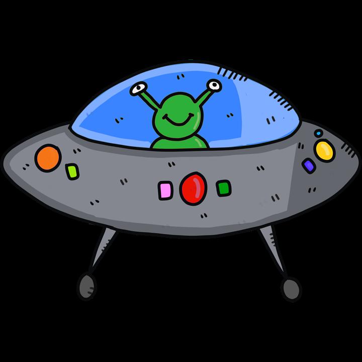 Mimozemské Kosmická Loď Ufo - Obrázek zdarma na Pixabay