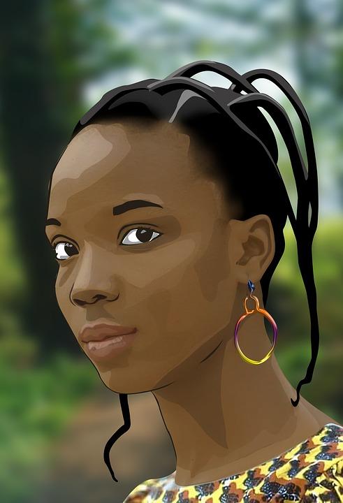 képek a fekete nő