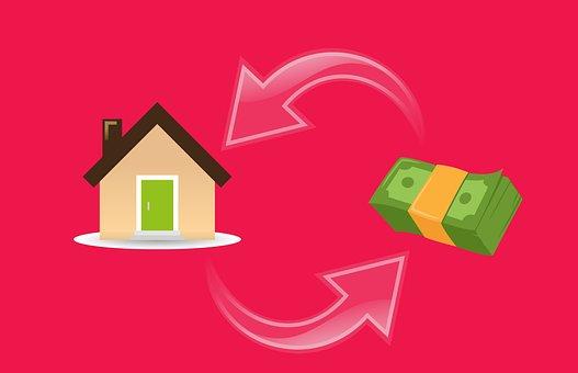 住宅ローン, 家, 現金, ビジネス, 購入, 不動産, Exchange