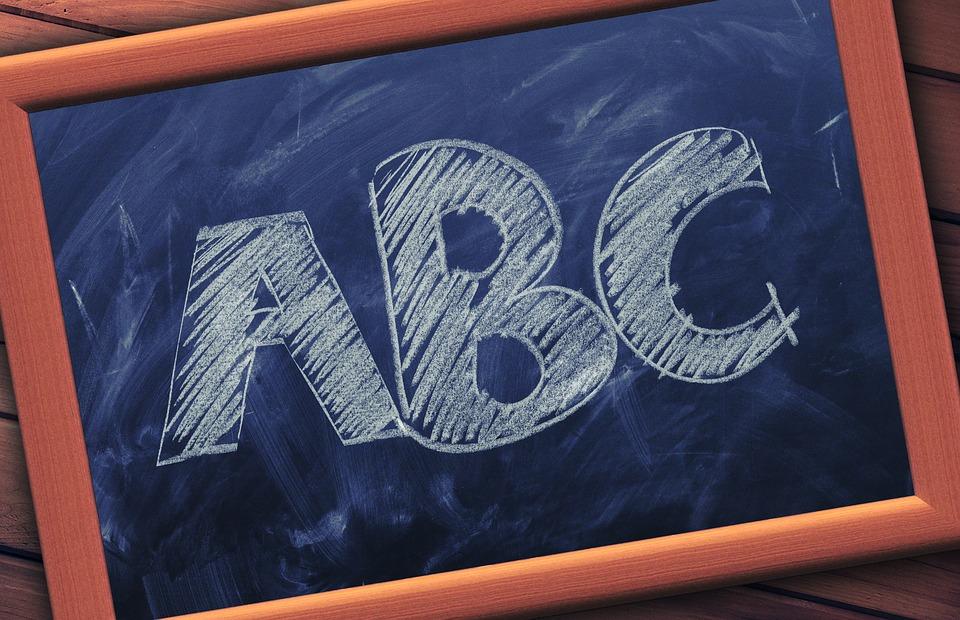 Abc, Conseil, École, Science, Ardoise, Enseignement