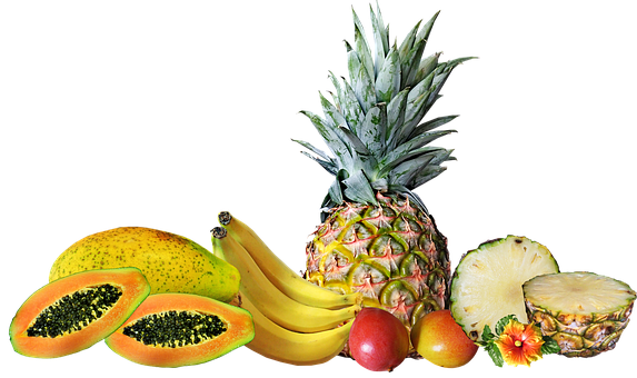 Frutas, Tropicales, Saludable