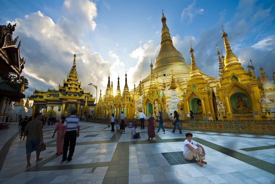 ミャンマー, 仏塔, 仏教, 宗教, ヤンゴン, 神聖です