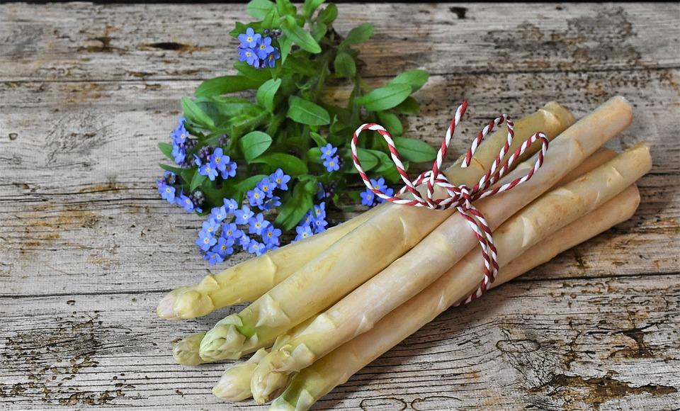 asparagus spring market food garden eat
