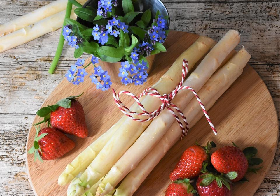 Asparagi, Primavera, Mercato, Alimentari, Giardino