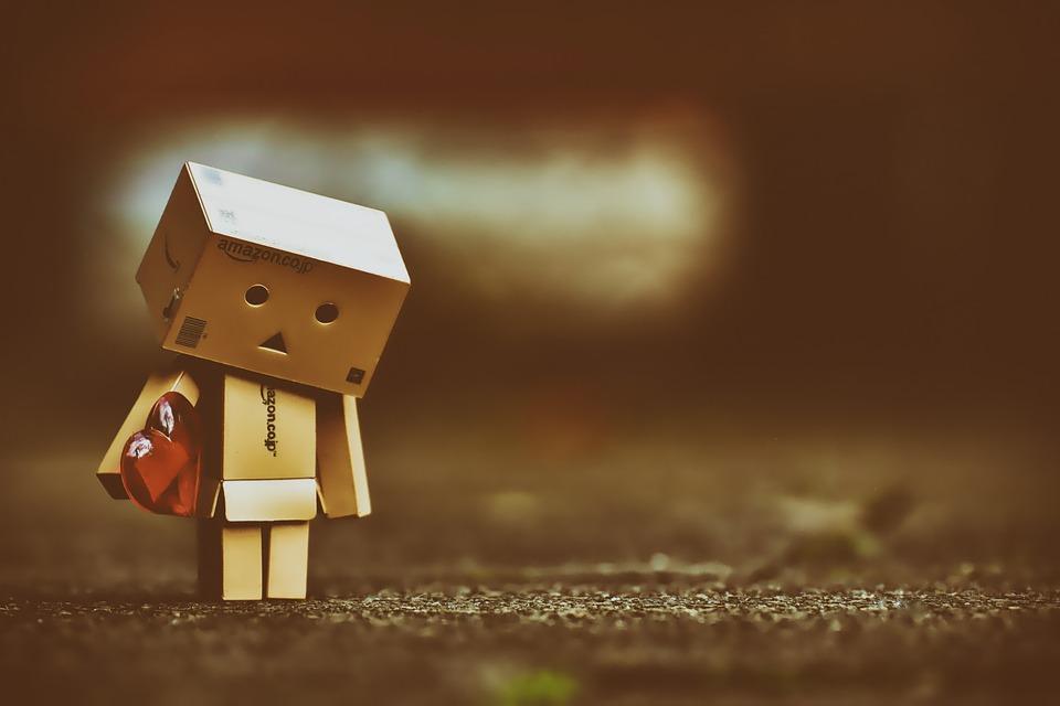悲しい, 切望, 愛, ダンボー, Danboard, フィギュア, かわいい, 心, 心の痛み, ミス