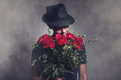 Man, Valentines, Day, Love, Romance, Lie