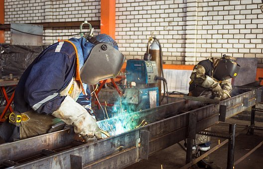 Metal, Welding, Welder, Factory, Build