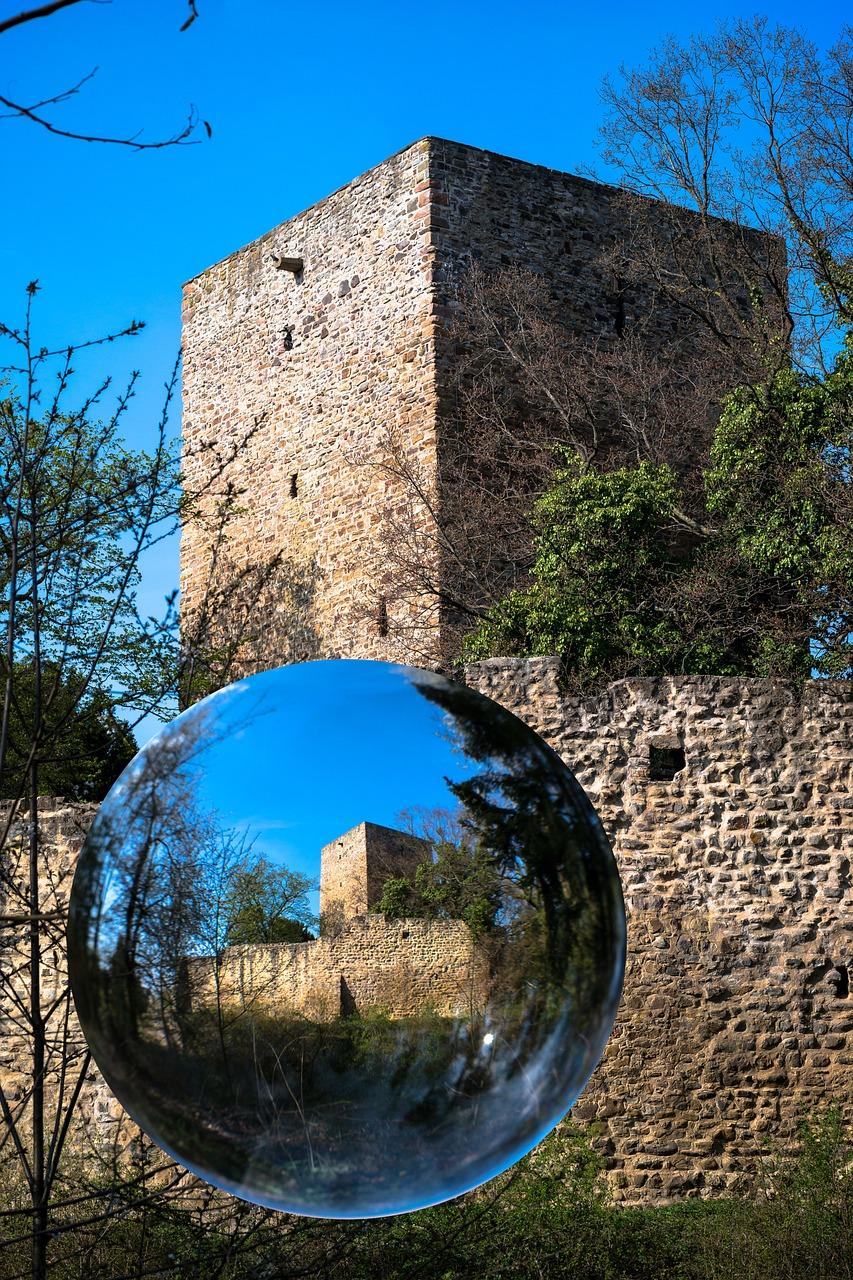 стеклянный замок фото