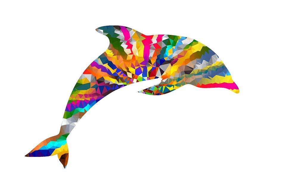 81+ Gambar Abstrak Lumba-lumba Terbaik