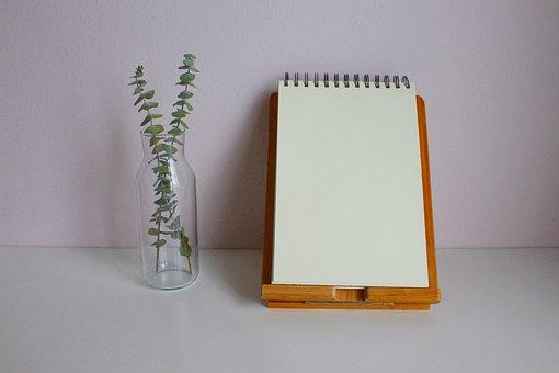 Bloco De Notas, Nota, Escrever, Papel