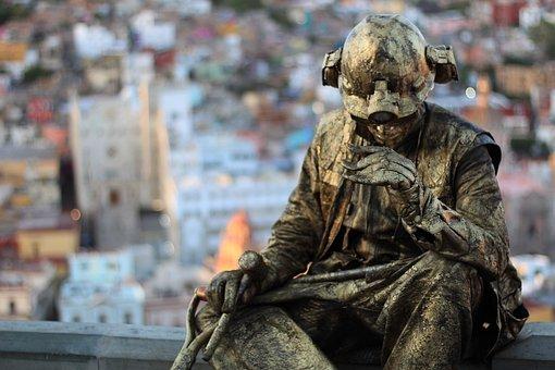 Copper, Man, Miner, Guanajuato, Figure