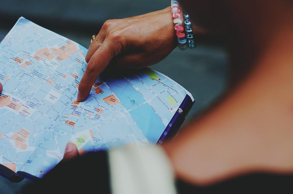 Map, Tourism, Lost, Direction, Guide, Tourist Guide