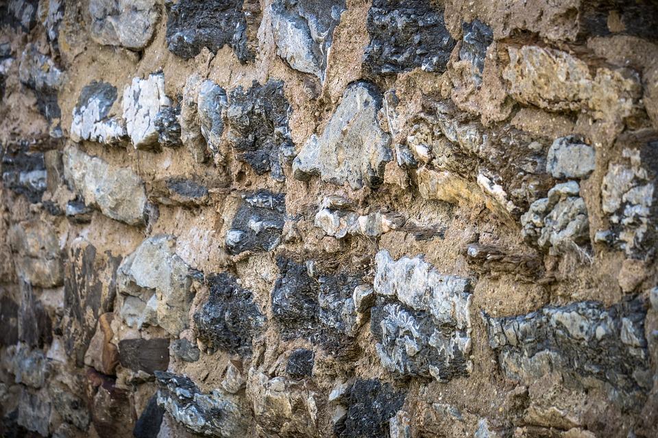 Mauer, Naturstein, Wand, Gemauert, Natursteinwand
