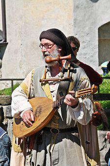 Minne, Minstrel, Middle Ages, Costume