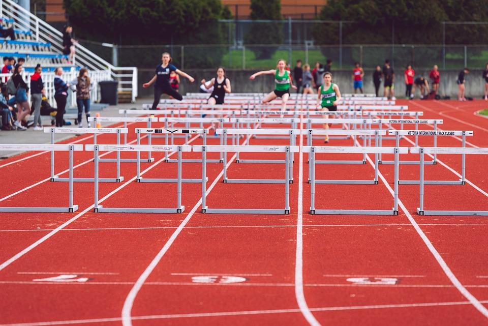 運動選手, 実行している, トラック, トラックとフィールド, 高速, 競争, レース, スポーツ, ランナー