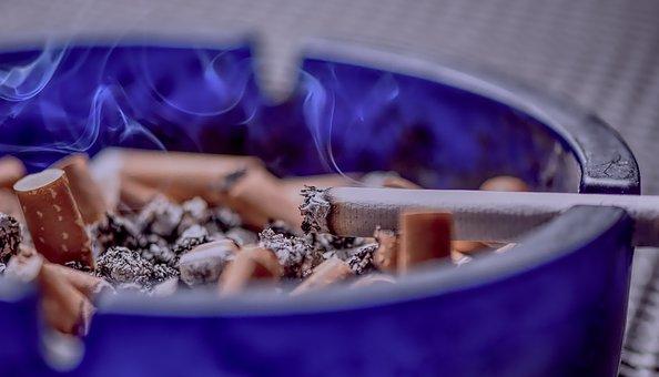 Sigarette, Cenere, Inclinazione, Fumare