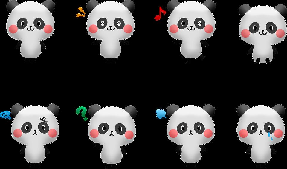 kawaii panda 4156799 960 720