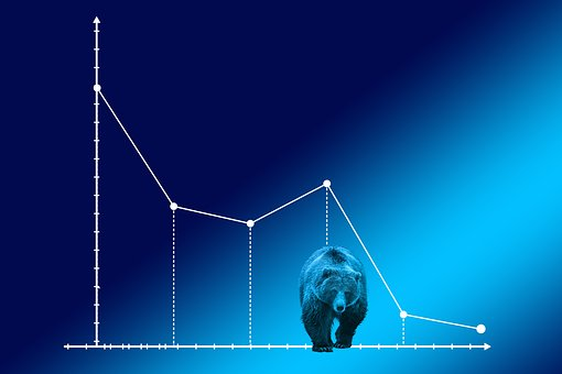 弱気市場, クマの市場, コース, 証券取引所, ベアー, 金融市場