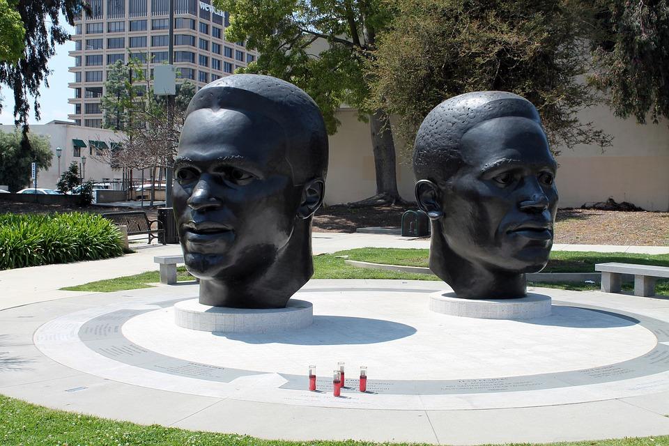 Jack Robinson, Mack Robinson, Pasadena, Sculpture