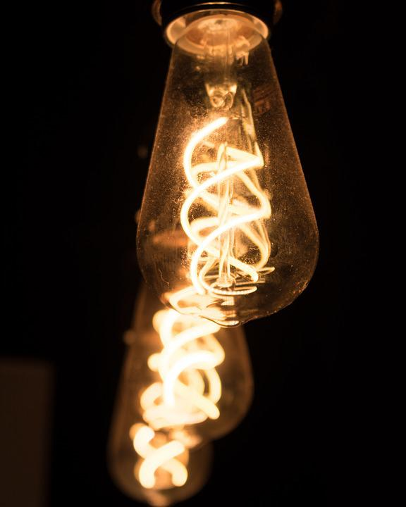 Lamp, Focus, Light, Lighting, Energy, Yellow