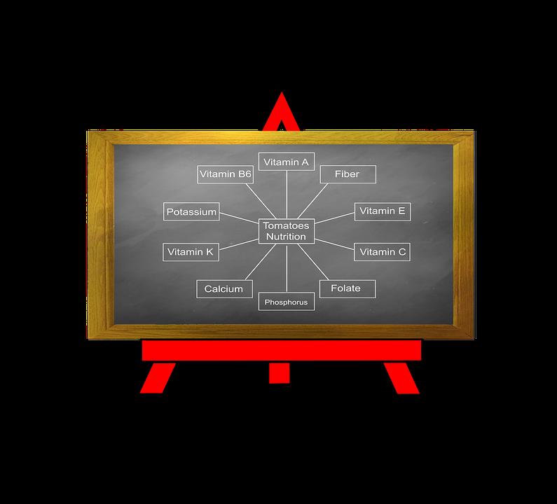 黒板, メッセージ, ボード, イーゼル, 通知, 教育, 情報, アドバイス, トマト, 食品, レシピ