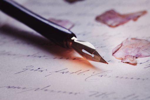 Pen, Font, Macro, Calligraphy